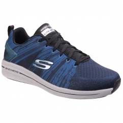 Skechers BURST 2.0 - IN THE MIX II Mens Trainers Black/Blue | Shuperb