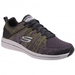 Skechers BURST 2.0 IN THE MIX II Mens Sports Trainers Black | Shuperb