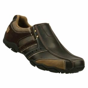 DIAMETER HEISMAN Mens Slip-On Leather Shoes Brown