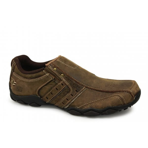 Skechers Diameter Heisman Mens Slip On Shoes