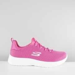 Skechers DYNAMIGHT Ladies Mesh Trainers Pink