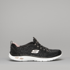 3f8857a4a9a697 Skechers EMPIRE D LUX SPOTTED Black Rose Gold