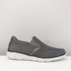 Skechers EQUALIZER-DOUBLE PAY Mens Shoes Charcoal/Orange