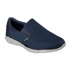 Skechers EQUALIZER-DOUBLE PAY Mens Walking Shoes Navy