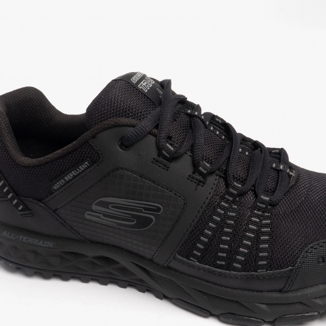 Skechers ESCAPE PLAN Mens Athletic Walking Training Outdoor Trainers Olive//Black