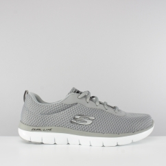 Skechers FLEX ADVANTAGE 2.0 DAYSHOW Mens Lightweight Mesh Trainers Grey