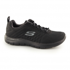Skechers FLEX ADVANTAGE 2.0-THE HAPPS Mens Sports Trainers Black