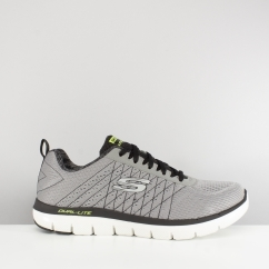Skechers FLEX ADVANTAGE 2.0 THE HAPPS Mens Trainers Grey
