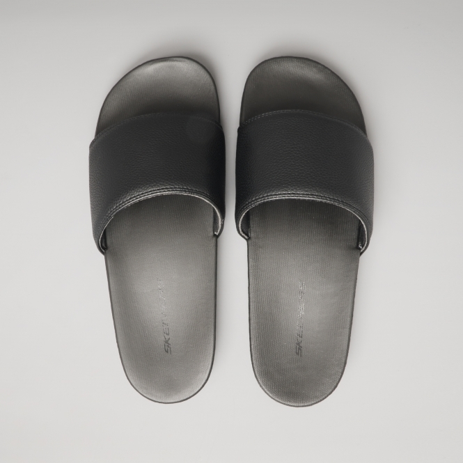a4dbdce62d5b Skechers GAMBIX Mens Casual Summer Sliders Sandals Black 51808