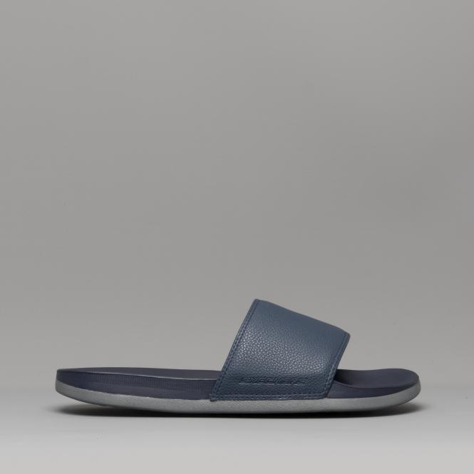 fdebef4a5692 Skechers GAMBIX Mens Casual Summer Sliders Sandals Navy Grey 51808