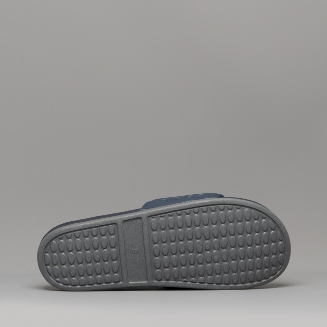 8d26a672323afe Skechers GAMBIX Mens Casual Summer Sliders Sandals Navy Grey 51808