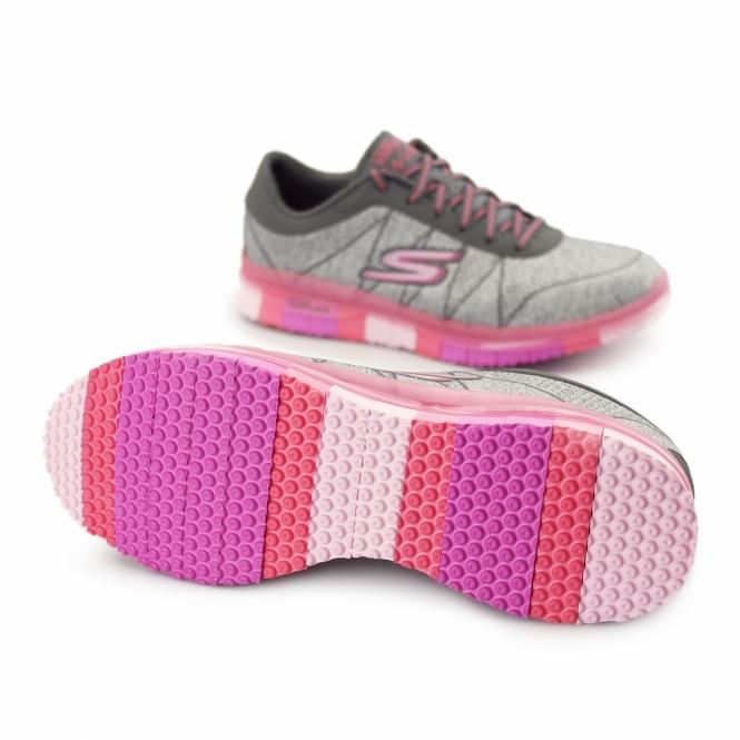 Details about Skechers Go Flex Ability Women's Sneaker Shoes Fitness Shoes Walk Black 14011