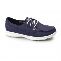 GO STEP - RIPTIDE Ladies Boat Shoes Navy