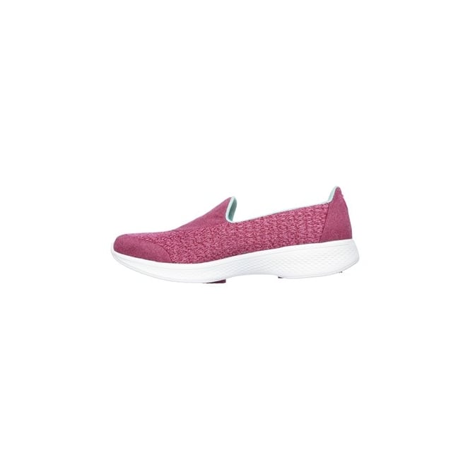 39a89647098 Skechers GO WALK 4 PURSUIT Ladies Trainers Rose