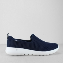 Skechers GO WALK JOY Ladies Slip On Trainers Navy