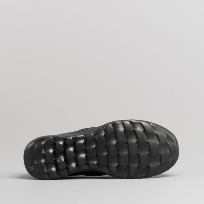 27980ac4c77 Skechers GO WALK LITE QUEENLY Ladies Casual Shoes Black