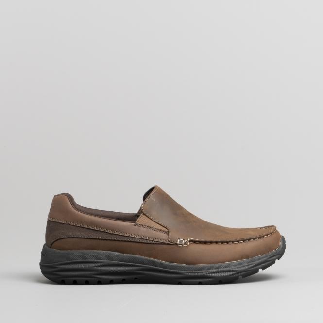 skechers mens shoes brown