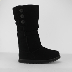 Skechers KEEPSAKES BRRRR Womens Winter Boots Black