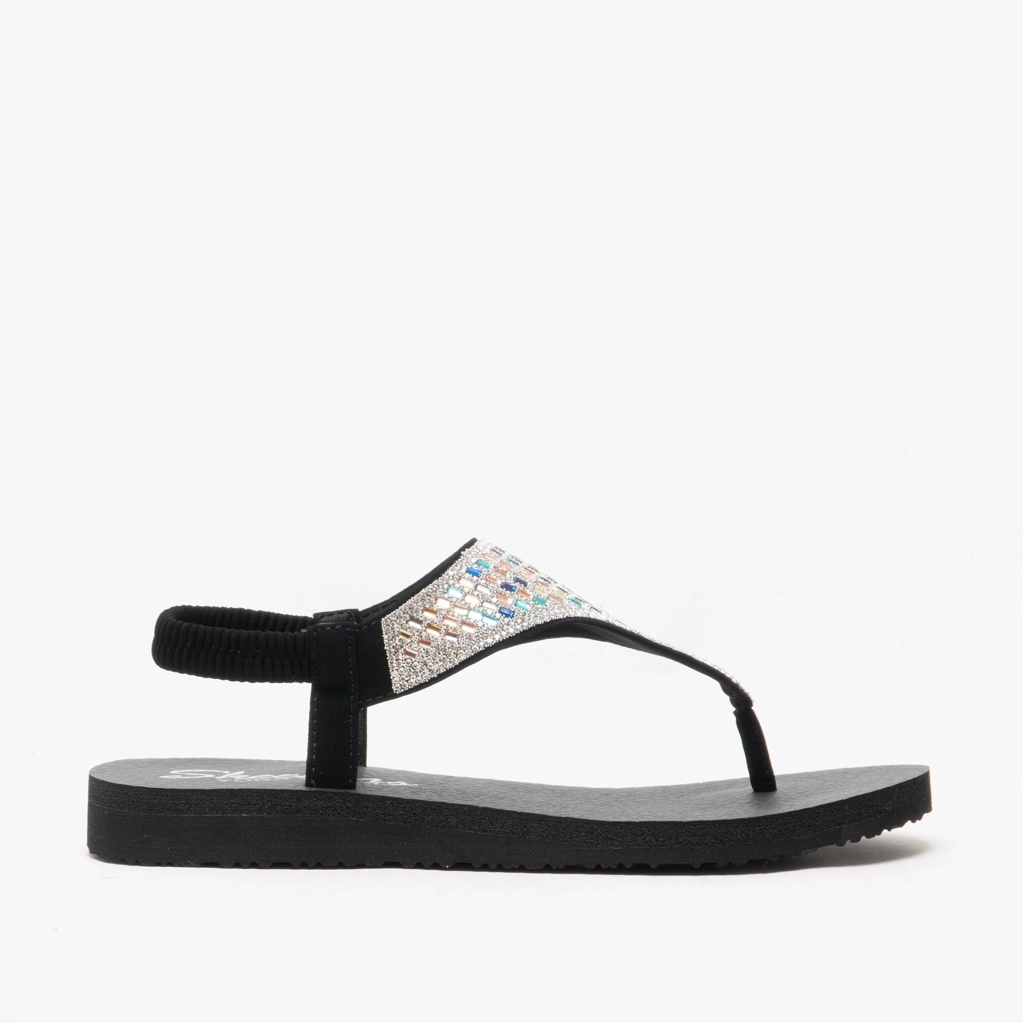 ROCK CROWN Ladies Sandals Black/Multi