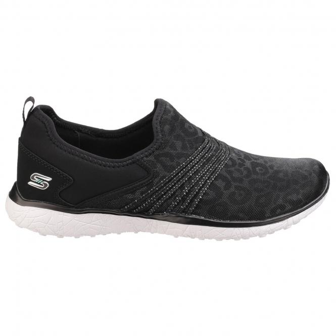 elegant shape purchase authentic lowest price MICROBURST UNDER WRAPS Ladies Trainers Black/White