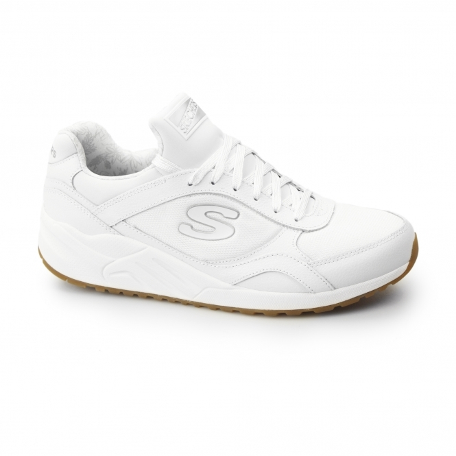 412d3eb8a10 Buy skechers leather trainers