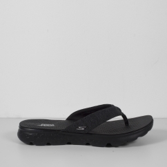 Skechers ON THE GO 400-VIVACITY Ladies Toe Post Flip Flop Black