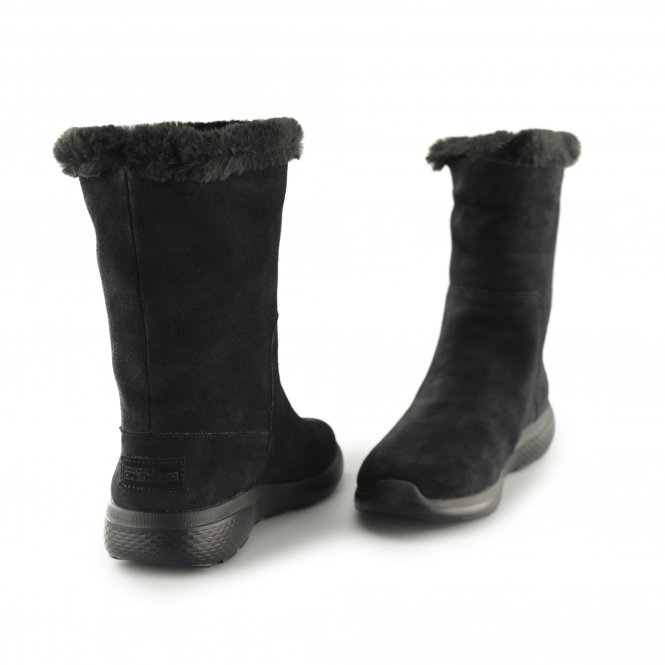 ac4a277a2e8f Skechers ON-THE-GO CITY 2 APPEALING Ladies Winter Boots Black