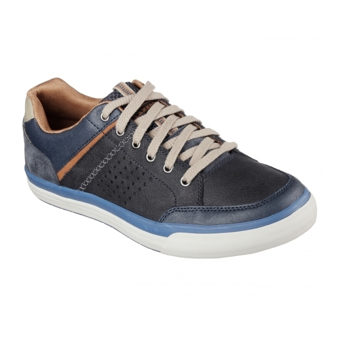 Skechers RELAXED FIT: DIAMONDBACK-RENDOL Mens Trainers Navy