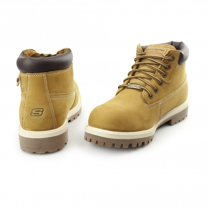 3aead292b1c SERGEANTS VERDICT Mens Waterproof Boots Wheat