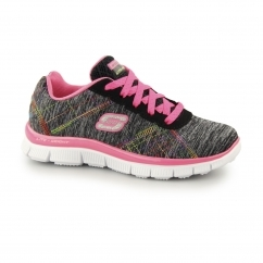 Skechers SKECH APPEAL-IT'S ELECTRIC Girls Trainers Black/Multi