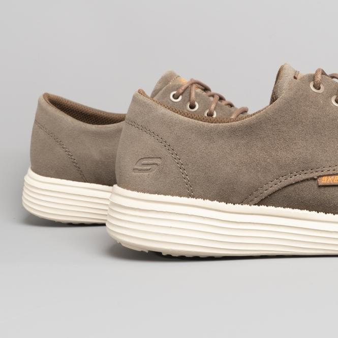 d834d762d3e0 Skechers STATUS VERSEN Mens Casual Shoes Beige