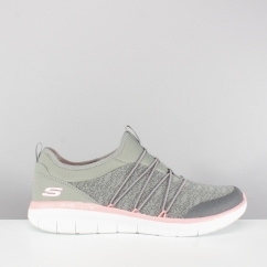 SYNERGY 2.0 SIMPLY CHIC Ladies Slip On Trainers Grey
