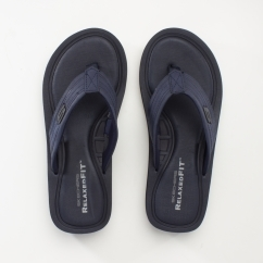 TOCKER Mens Flip Flops Navy