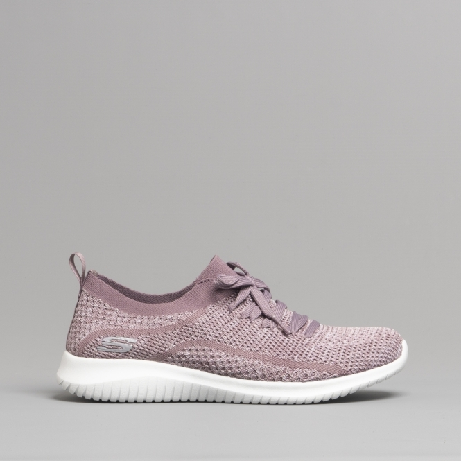 new concept 4db24 2958a Skechers ULTRA FLEX - STATEMENTS Ladies Trainers Lavender   Shuperb
