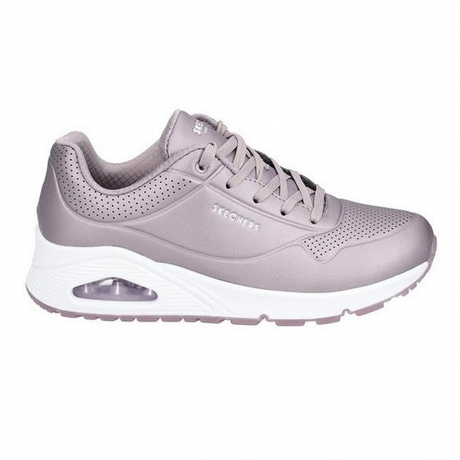UNO ROSE BOLD Ladies Trainers Pewter