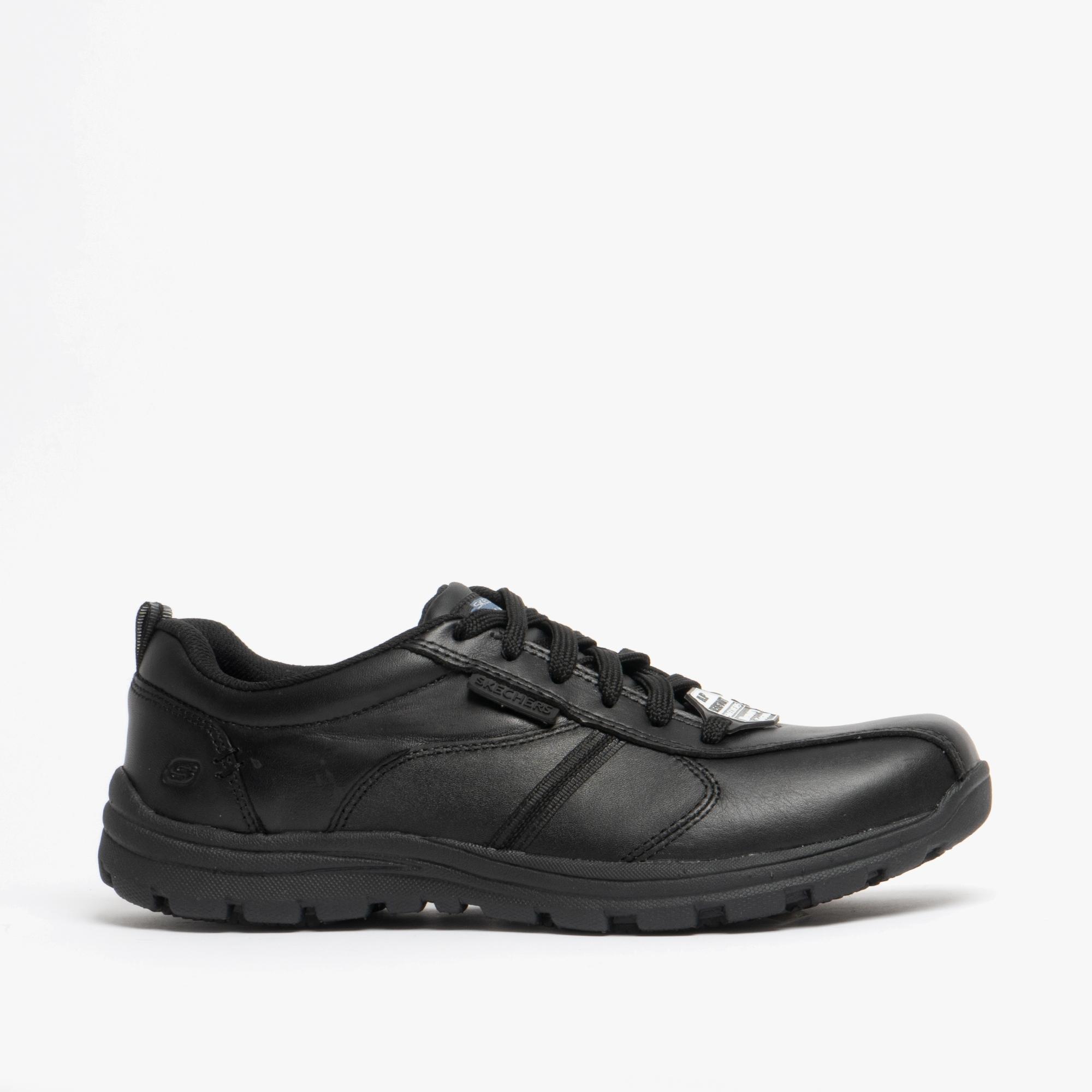 mens black sketcher shoes