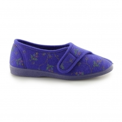 DORA Ladies Full Slippers Navy