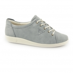 SOFT 2.0 Ladies Leather Lace Up Trainers Trooper