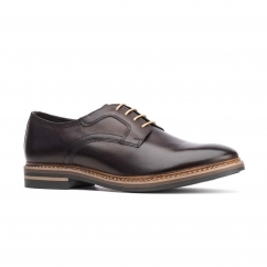 Base London SPENCER Mens Leather Shoes Brown