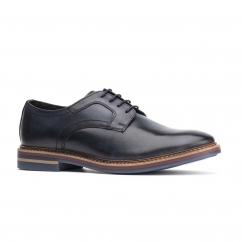Base London SPENCER Mens Leather Shoes Navy