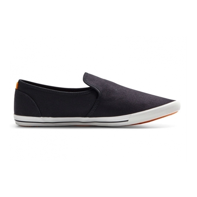 Jack & Jones SPIDER Mens Canvas Loafers Anthracite