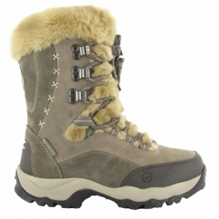 ST. MORITZ 200 Ladies Waterproof Winter Boots Olive/Taupe/Stone