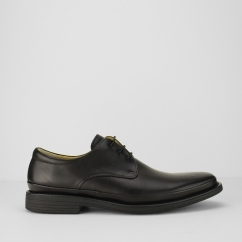 Steptronic ANGELO Mens Leather Derby Shoes Black