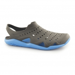 Crocs SWIFTWATER WAVE Mens Croslite Sandals Graphite/Ocean