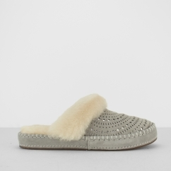 UGG AIRA SUNSHINE PERF Ladies Mule Slippers Seal