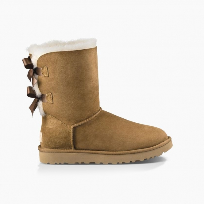 87ea78a8d2a BAILEY BOW II Ladies Sheepskin Boots Chestnut