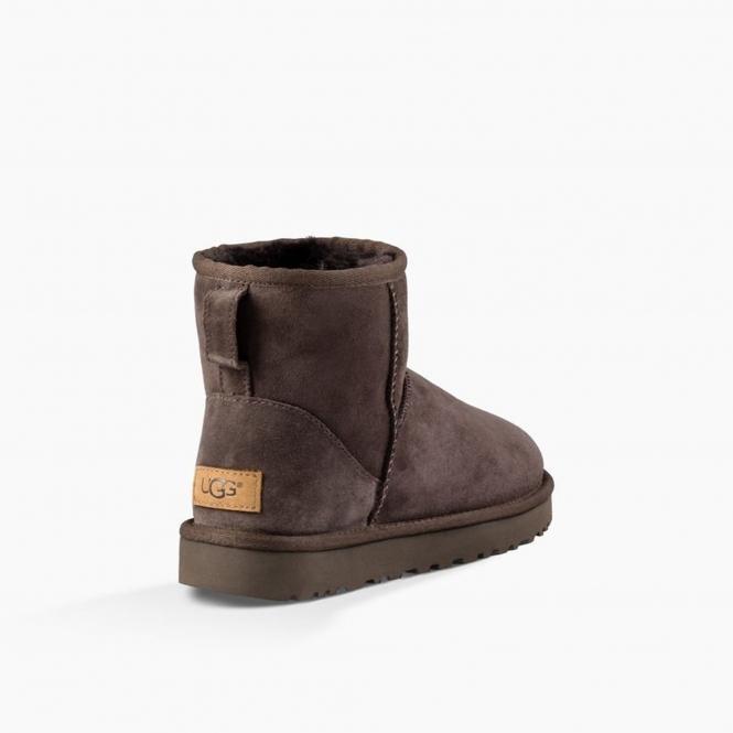 cfecdbdb7ab CLASSIC MINI II Ladies Sheepskin Boots Chocolate