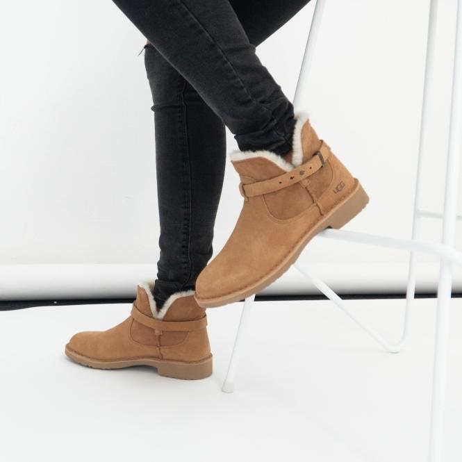 Buy UGG ELISA Ladies Suede Ankle Boots