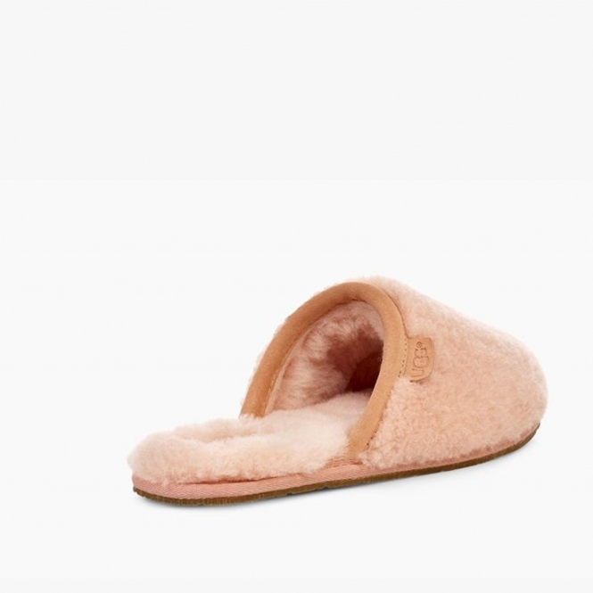 30ee523ada1 UGG FLUFFETTE Ladies Wool Mule Slippers Sunset
