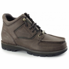 UMBWE TRAIL WP Mens Leather Lace-Up Boots Brown